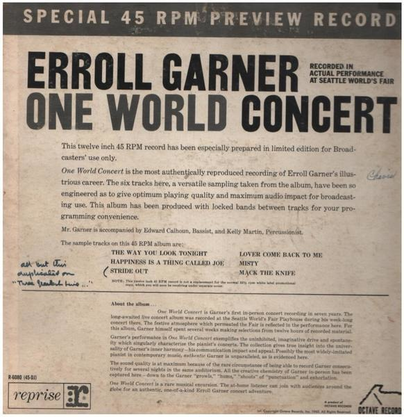 #<Artist:0x007f2776ae2780> - One World Concert
