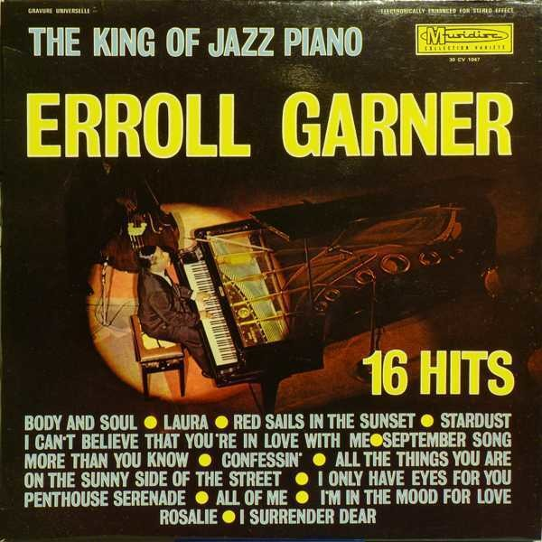 Erroll Garner The King Of Piano Jazz Vinyl Records Lp