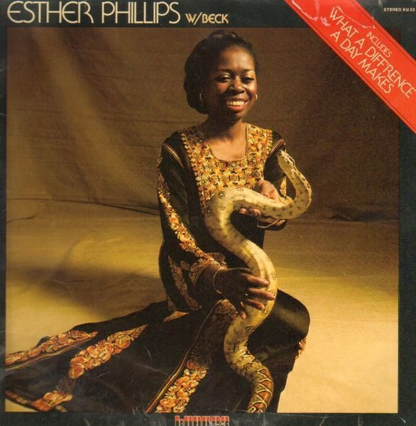 ESTHER PHILLIPS WITH JOE BECK - What A Diff'rence A Day Makes - 33T