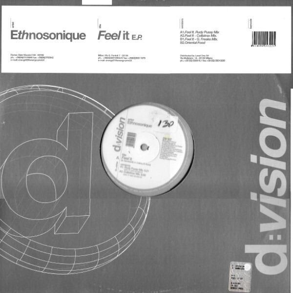 ETHNOSONIQUE - Feel It - Maxi x 1