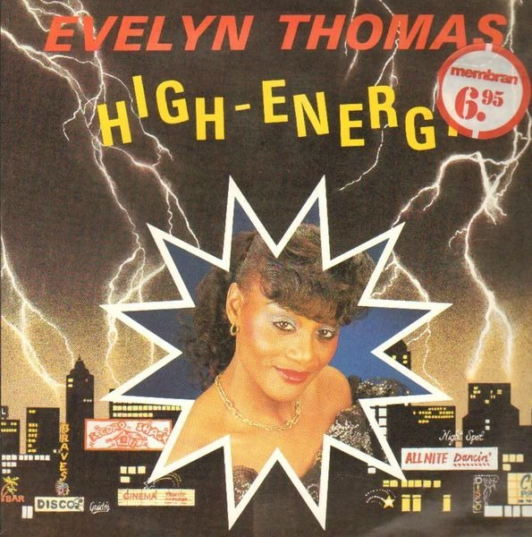 High Voltage Thomas : Evelyn thomas high voltage records lps vinyl and cds