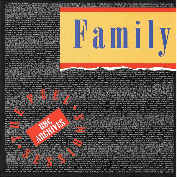 FAMILY - Peel Sessions : Live at BBC 1973 - CD single