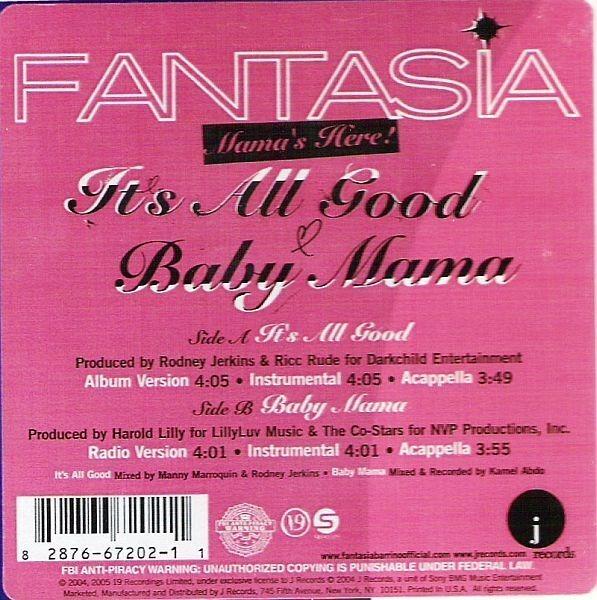 FANTASIA - It's All Good - Maxi x 1