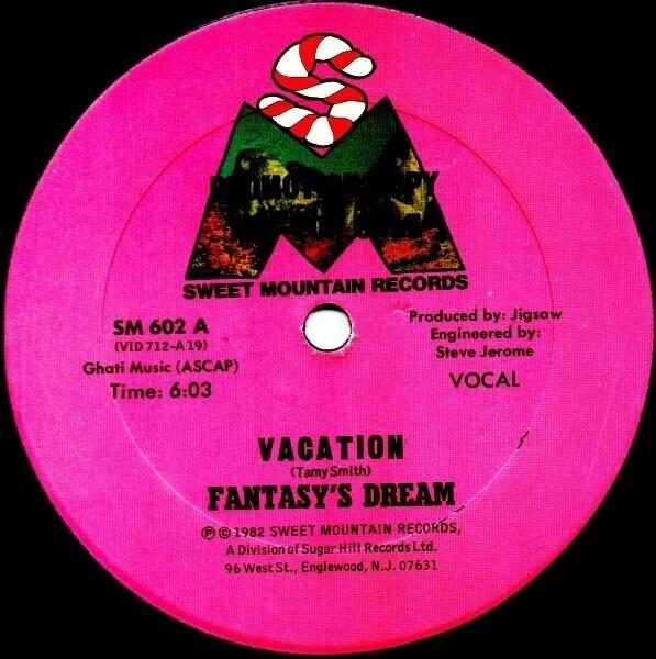 FANTASY'S DREAM - Vacation - LP
