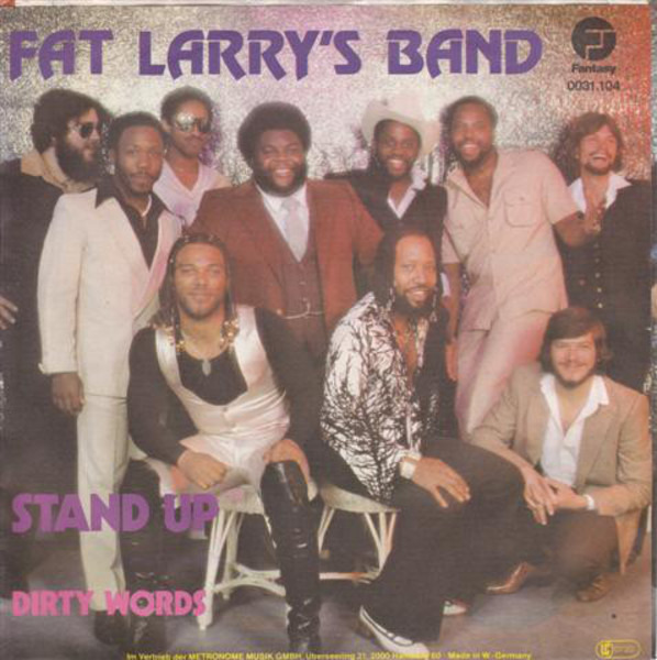 FAT LARRY'S BAND - Stand Up - 45T x 1