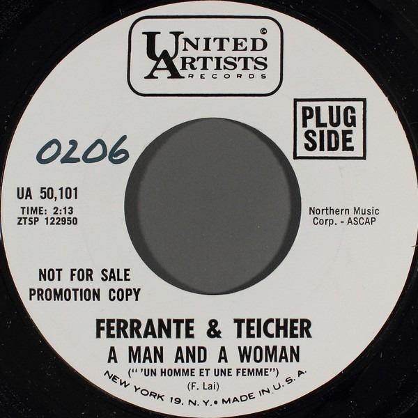 ferrante & teicher a man and a woman (''un homme et une femme')
