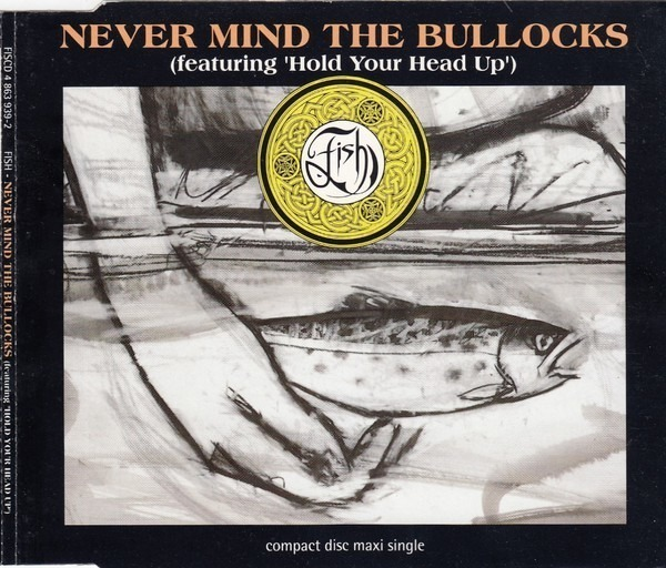FISH - Never Mind The Bullocks (Featuring 'Hold Your Head Up') - CD single