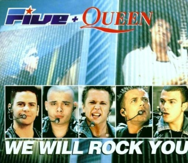 Five + Queen We Will Rock You (incl Video)