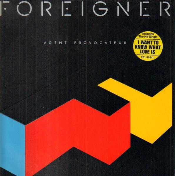 foreigner agent provocateur (embossed cover)