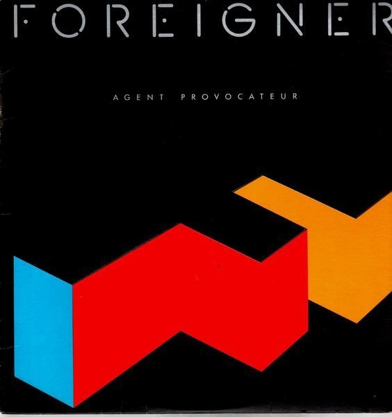 foreigner agent provocateur vinyl records lp cd on cdandlp. Black Bedroom Furniture Sets. Home Design Ideas