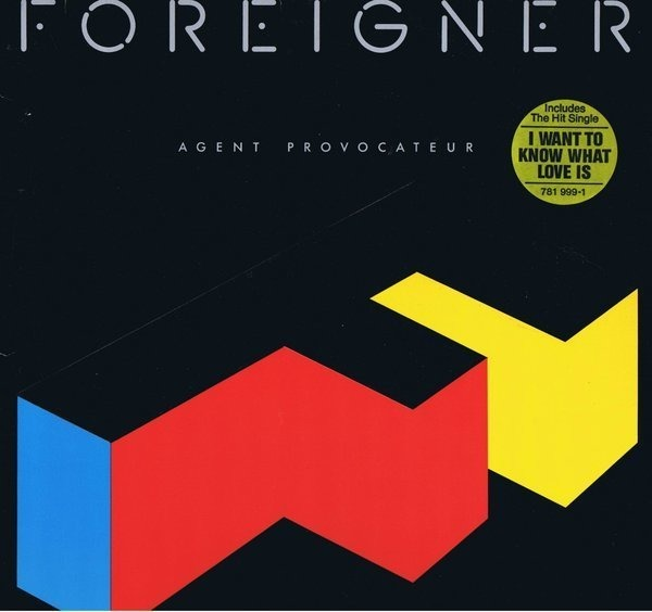 foreigner agent provocateur (embossed)