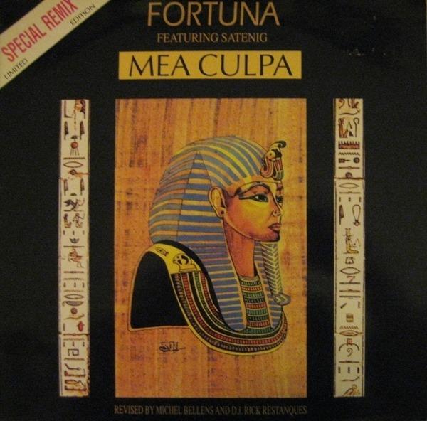 FORTUNA FEATURING SATENIG - Mea Culpa (Special Remix) - Maxi x 1