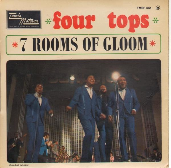 Four Tops 7 Rooms Of Gloom (ORIGINAL FRENCH EP)