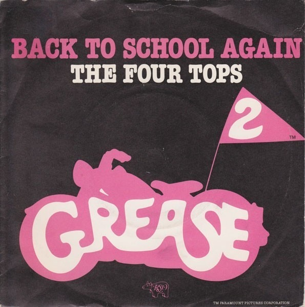 Four Tops Back To School Again