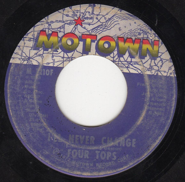 Four Tops (It's The Way) Nature Planned It / I'll Never Change