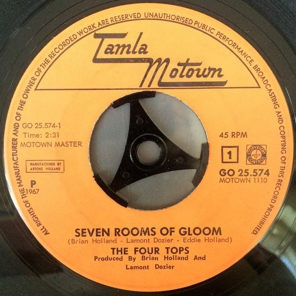 Four Tops 7 Rooms Of Gloom
