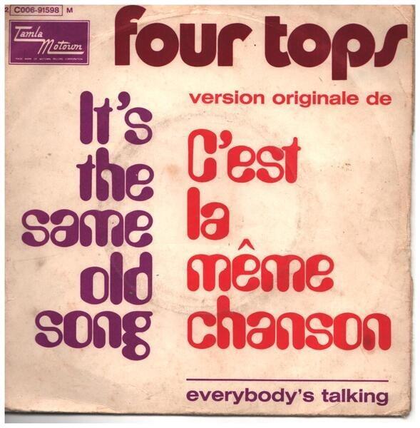 Four Tops c'est la même chanson