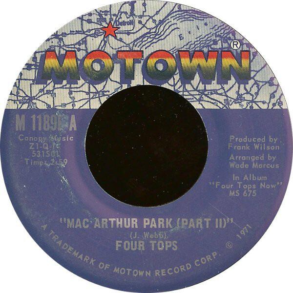 Four Tops MacArthur Park