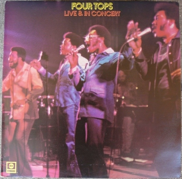Live & in concert by Four Tops, LP with eric5152 - Ref:118593710