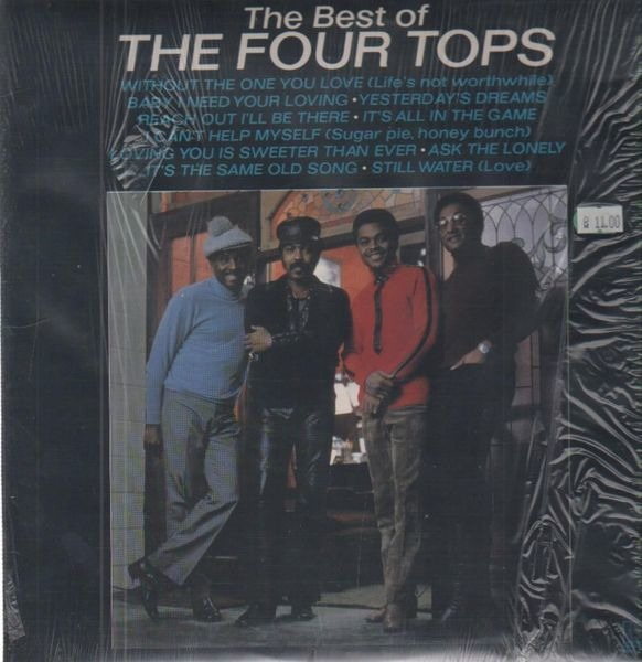 #<Artist:0x00007fcea7698160> - The best of The Four Tops