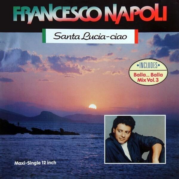 FRANCESCO NAPOLI - Ciao - Maxi x 1