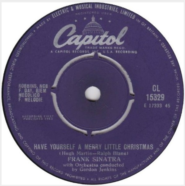 frank sinatra have yourself a merry little christmas album - Have Yourself A Merry Little Christmas Frank Sinatra