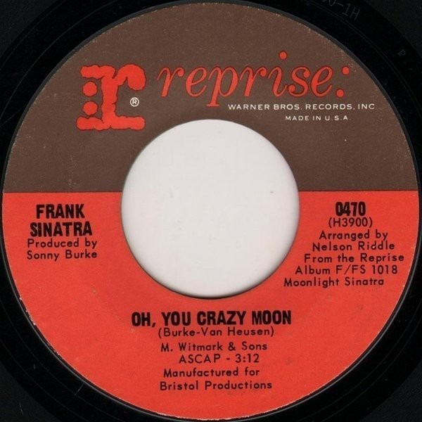 #<Artist:0x00007f811ca6a230> - Strangers In The Night / Oh, You Crazy Moon
