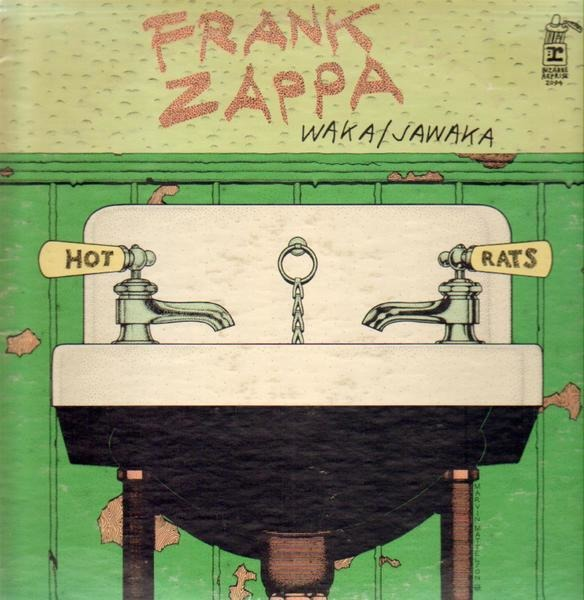 frank zappa waka / jawaka - hot rats (promo white label)