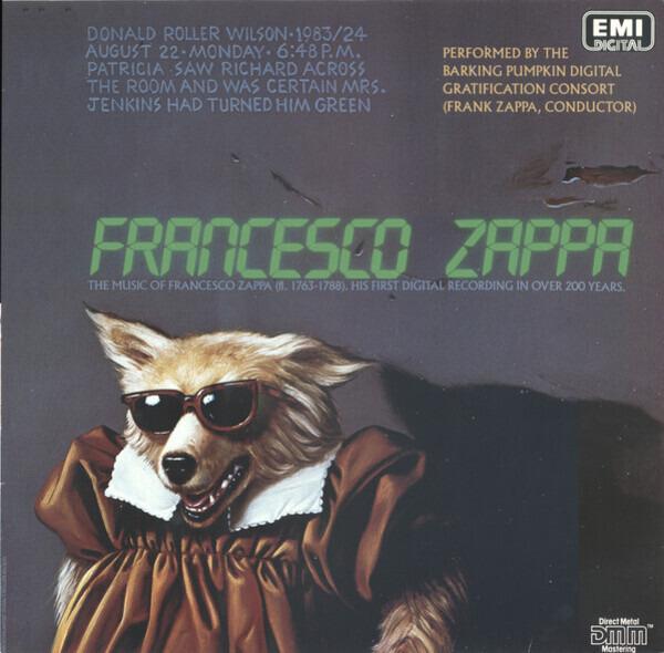 #<Artist:0x007fe3453a2138> - Francesco Zappa