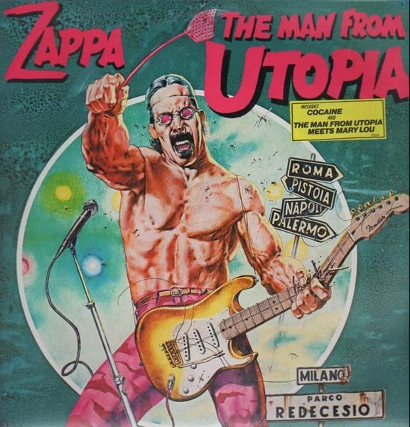 #<Artist:0x00007f416407e2f0> - The Man from Utopia