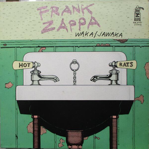 frank zappa waka / jawaka - hot rats