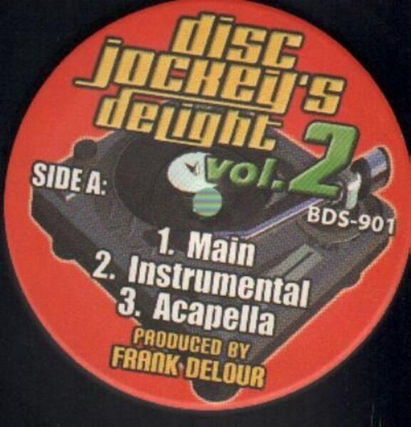 Frank Delour Disc Jockeys's Delight Vol. 2 (STILL SEALED)