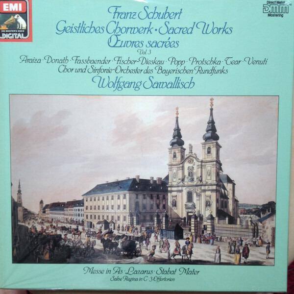 #<Artist:0x0000000008691010> - Geistliches Chorwerk - Sacred Works Vol 3