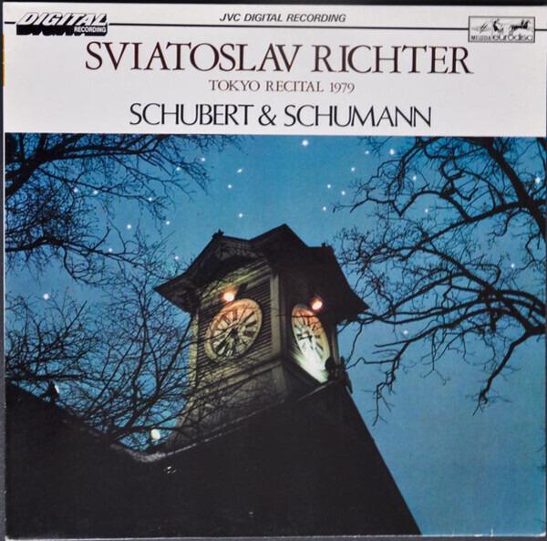 #<Artist:0x00007fcea55825e8> - Schubert & Schumann - Tokyo Recital 1979