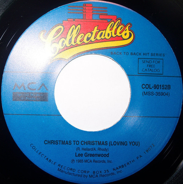 Freddy Fender / Lee Greenwood Please Come Home For Christmas / Christmas To Christmas (Loving You)