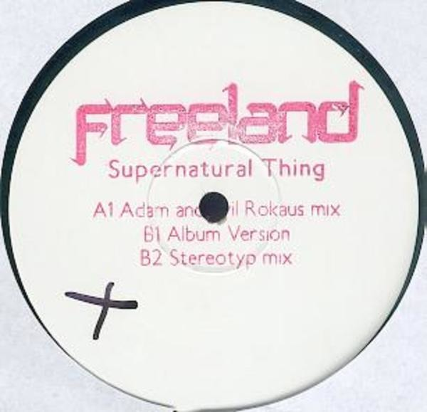 FREELAND - Supernatural Thing (LIMITED TEST PRESS) - Maxi x 1