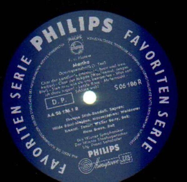 F. von Flotow - Salmhofer w/ Wiener Symphoniker & 'Martha' (Querschnitt) (MONO)