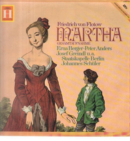 Friedrich von Flotow Martha (GATEFOLD)