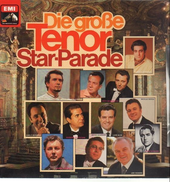 #<Artist:0x007efbc150fa50> - Die große Tenor Star-Parade