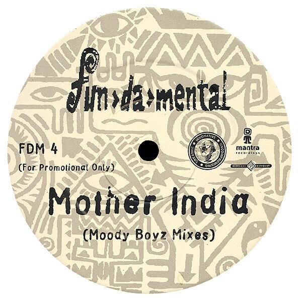 FUN-DA-MENTAL - Mother India (Moody Boyz Remixes) - LP