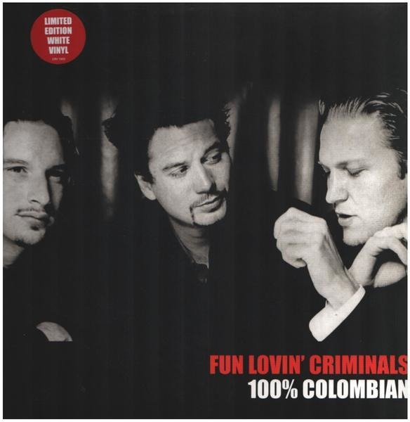 fun lovin' criminals 100% colombian (limited edition white vinyl)