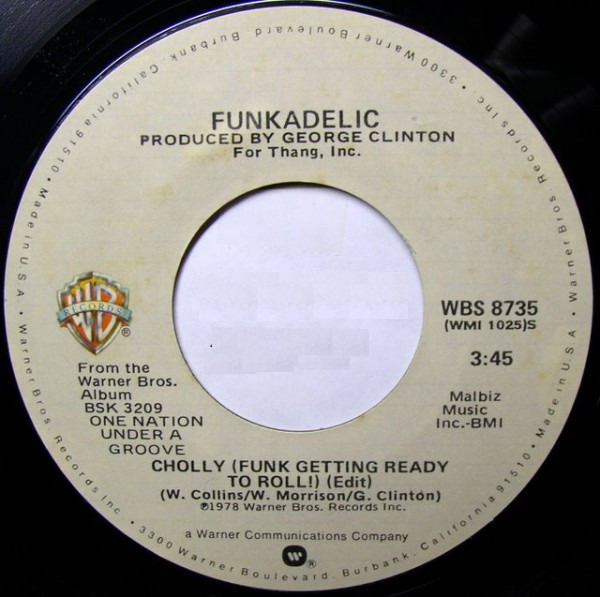 #<Artist:0x007f70305cc3d8> - Cholly (Funk Getting Ready To Roll) / Into You