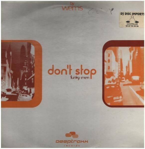 FUNKY MEN - Don't Stop - 12 inch x 1