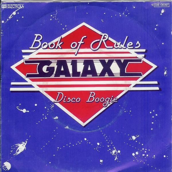 GALAXY - Book Of Rules - 7inch x 1