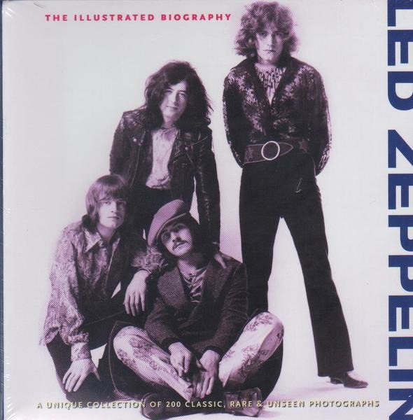 GARETH THOMAS - Led Zeppelin - The Illustrated Biography - 本