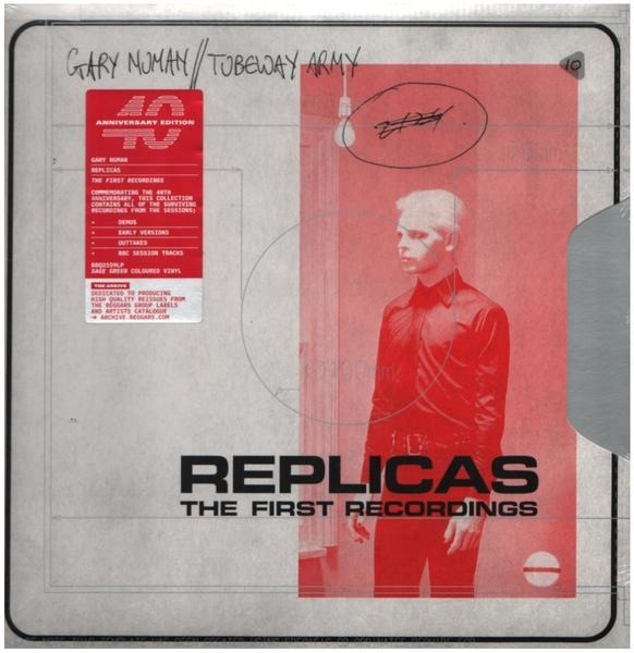 gary numan / tubeway army replicas (the first recordings) (sage green vinyl /40th anniversary edition)