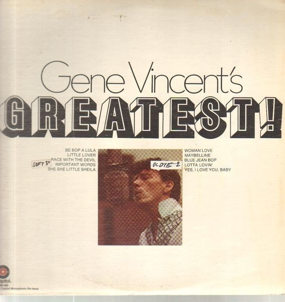 #<Artist:0x007f6711e46838> - Gene Vincent's Greatest