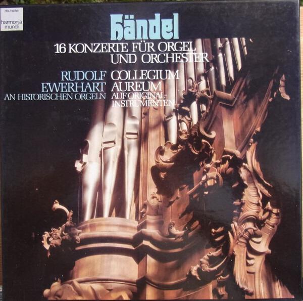 Händel 16 Konzerte für Orgel und Orchester (HARDCOVER BOX + BOOKLET)