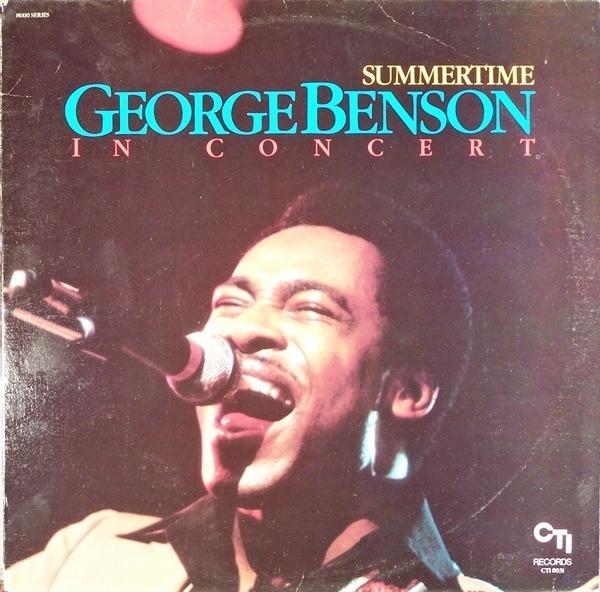 GEORGE BENSON - In Concert - Summertime - 33T