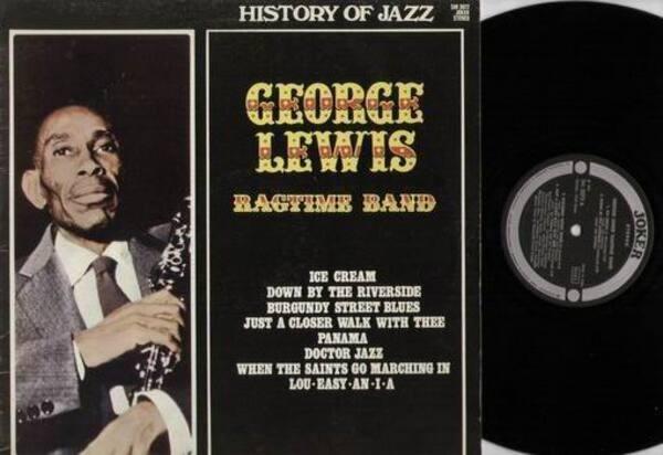 GEORGE LEWIS - George Lewis Ragtime Band - LP